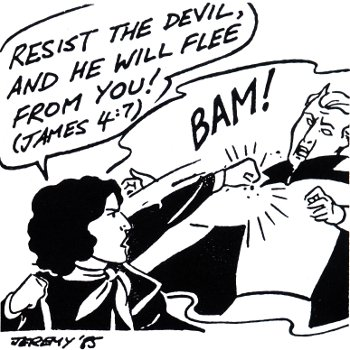 How To Go On The Attack Against The Devil Quote Scripture Pray