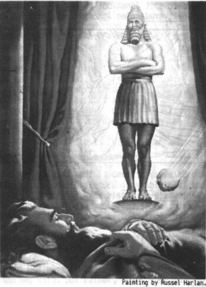 Image in the dream of King Nebuchadnezzar