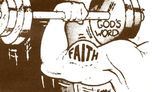 Faith grows by hearing the Word of God!