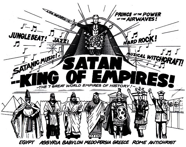 Satan, King of Empires - The 7 empires of Satan