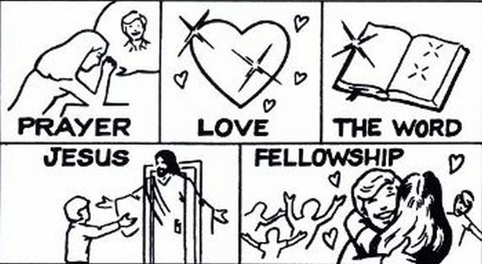 Are you giving others prayer, love, the Word, Jesus and fellowship?