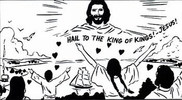 God's kingdom come to earth.