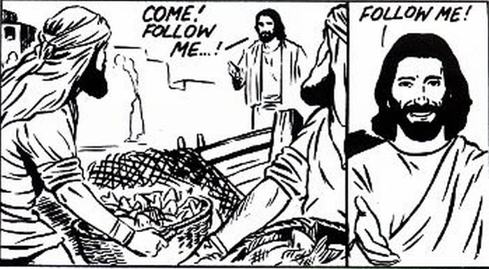 Jesus calls the Fishermen to follow Him!