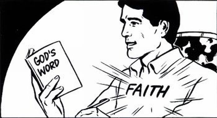 Faith from reading the Bible..