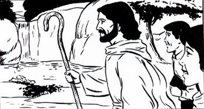 Following Jesus.