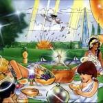 A picnic in Heaven.